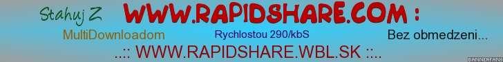 Rapidshare bez obmedzení